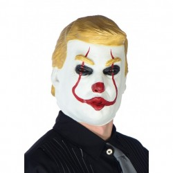 Masque clown Donald Trump...