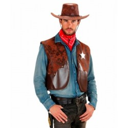 Veste cow-boy homme