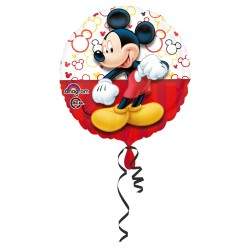 Ballon Mickey métallique -...