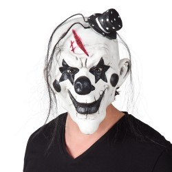 Masque latex clown psycho