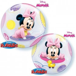 Ballon bubble Baby Minnie...