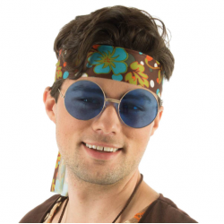 Grosses lunettes Hippies...