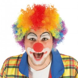 Nez rouge de clown en mousse
