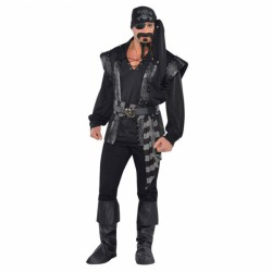 Costume de Pirate noir homme