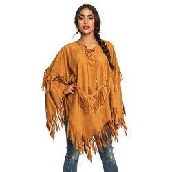 Poncho indienne adulte