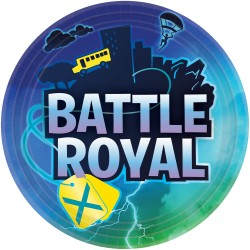 8 assiettes Battle Royale...